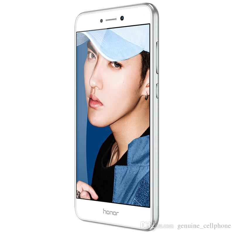 Original Huawei Honor 8 Lite 4G LTE-Handy Kirin 655 Octa-Core 4 GB RAM 32 GB 64 GB ROM Android 5.2 Zoll 12.0mp Fingerabdruck-ID-Handy