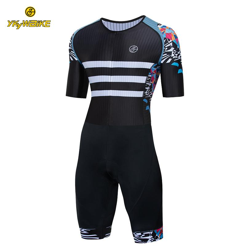 Ykywbike Cycling Triathlon Cycling Skinsuit Men MTB Bycle Team Cycleing Clothing Pro Team Maillot Ciclismo