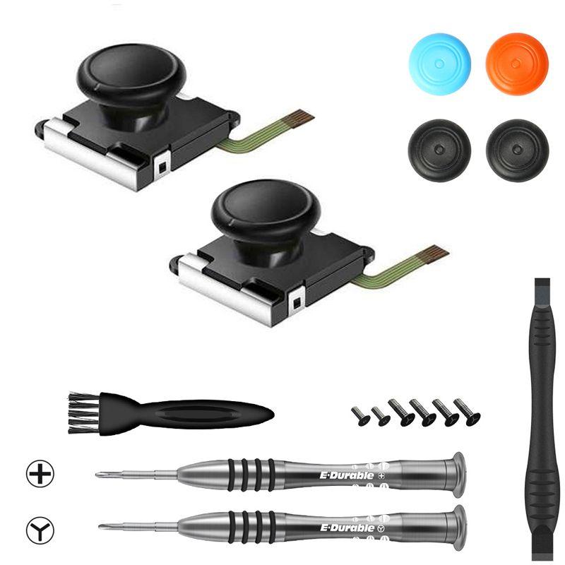 Замена 3D аналоговый джойстик Thumb ручки Наборы для Nintend Переключатель Радости Con Модуль контроллера датчика Потенциометр Repair Tool