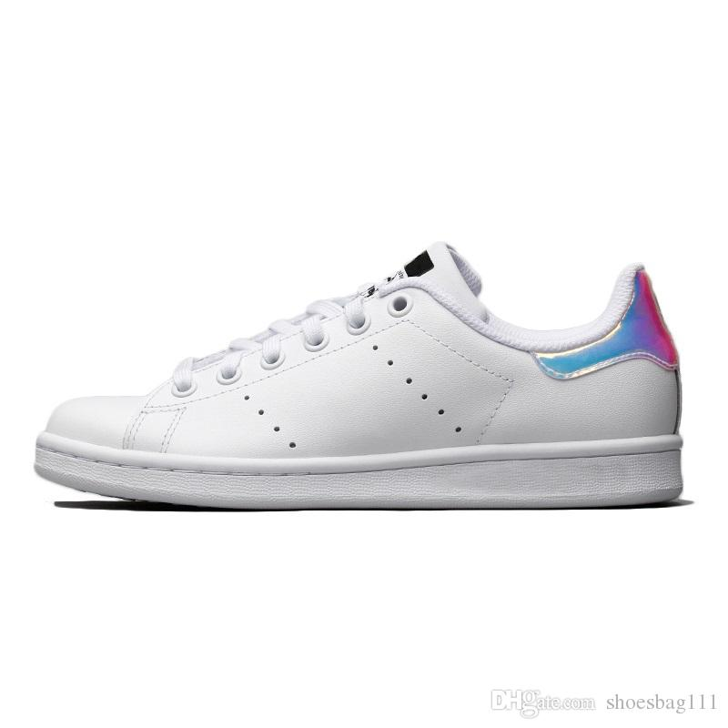 a2 2020 mens di qualità stan scarpe moda fabbro di marca delle donne superiori nuove dimensioni sportivi in pelle casuali delle scarpe da tennis EUR 36-44