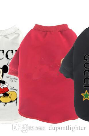 Pet clothing many patterns 2020 new cartoon dog costumes free shipping 0408102-1