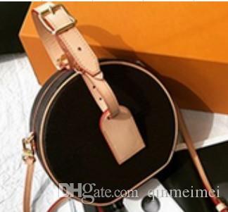 Бренд дизайн реальная кожа коричневый моноцветный цвет нового типа женщин крест корпус пургин мини Boite Chapeau Sumss Lady Feather Boite Capory Tote