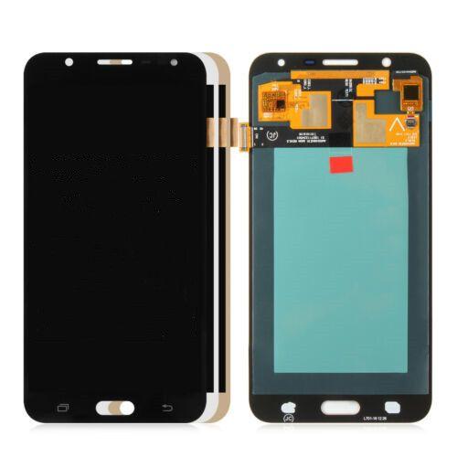 LOGO Ücretsiz DHL ile Samsung Galaxy J7 Neo J701F J701M J701 LCD Ekran Sayısallaştırıcı Dokunmatik Ekran Meclis AMOLED