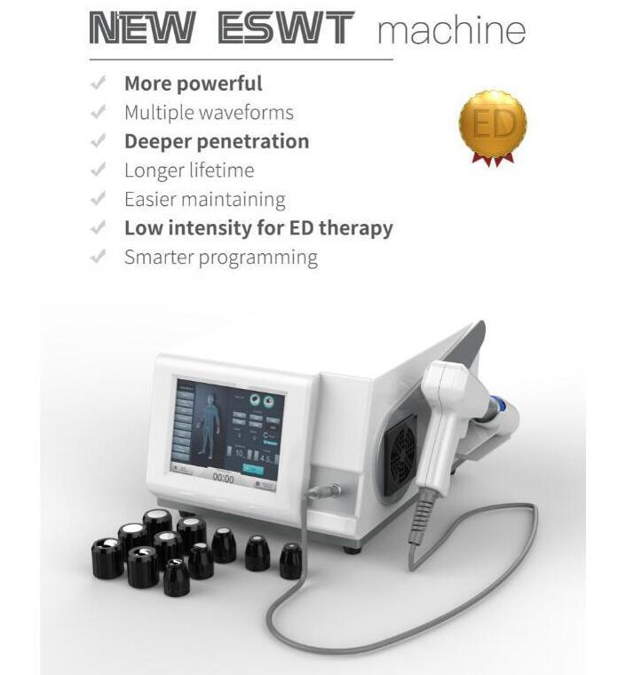공장 가격 높은 품질 톱 엔드 ESWT-KP-B 휴대용 공기 충격파 치료 기계 체외 충격파 치료를위한 ED Treatmen