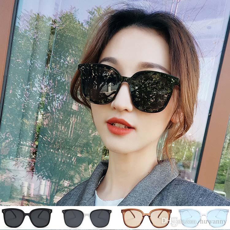 Moda feminina óculos de sol venda quente senhoras verão UV proteção óculos de sol preto óculos de sol atacado frete grátis 0023GLS