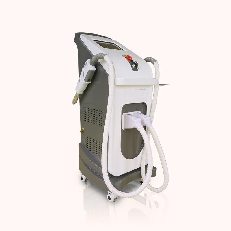 elight hair removal machine with 2 heads ipl shr nd yag laser Tattoo Removal Skin Tightening machine