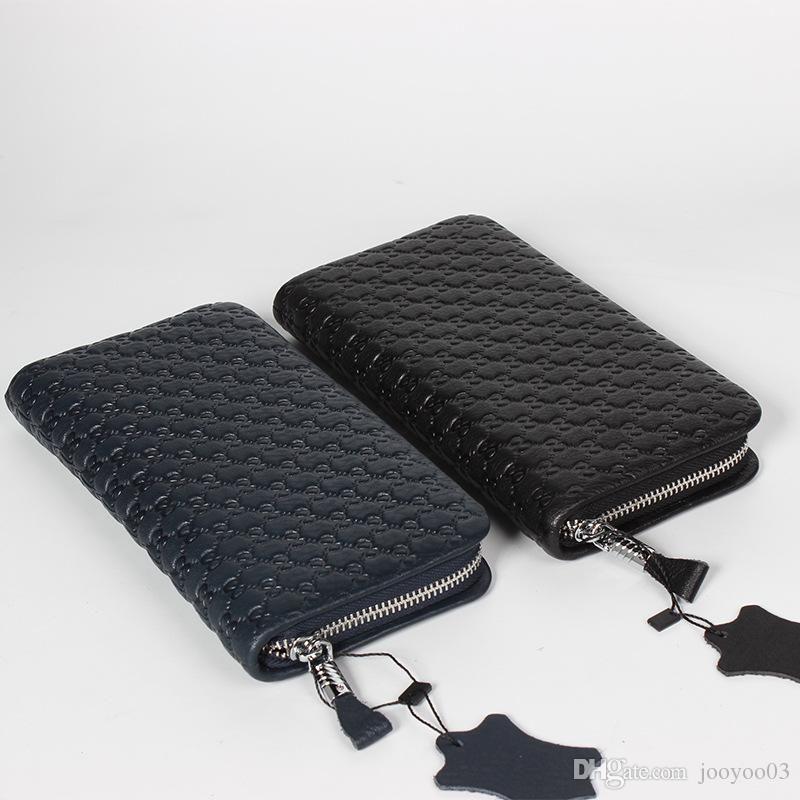 حقائب اليد للرجال بطاقة متعددة اليد مخلب حقيبة أزياء عارضة شخصية بسيطة أزياء مزاجه شعبية اليد البرية تأخذ باوتو طبقة جلدية