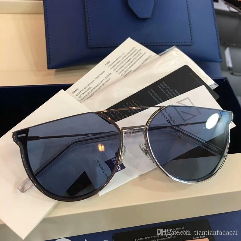 새로운 패션 여성 선글라스 oculos JACK 남성 선글라스 간단하고 관대 한 사람 태양의 경우 야외 UV400 보호 안경 안경