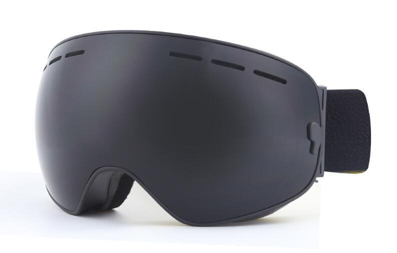 Livelli all'ingrosso Occhiali da sci Nuovo JIEPOLLY doppio di marca UV400 Anti-fog Big Ski Mask Donne Neve Occhiali Sci Snowboard Uomini Occhiali HY325