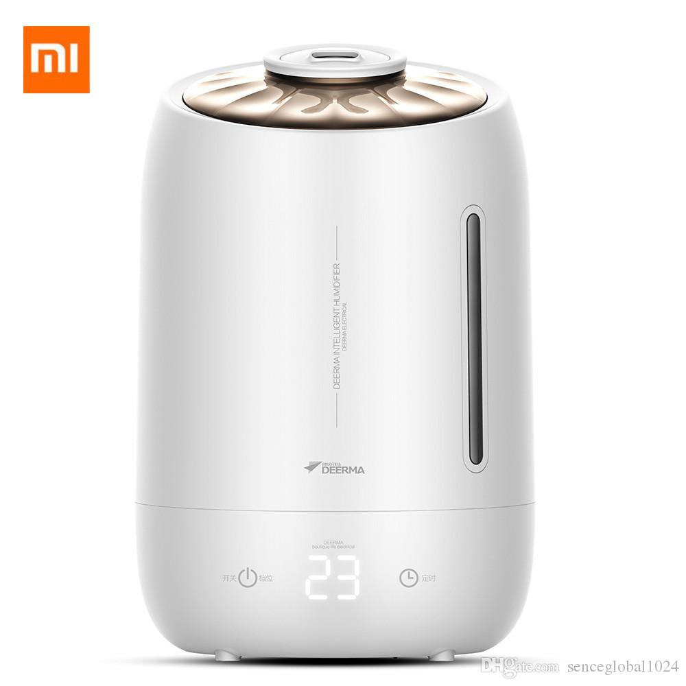 Xiaomi Deerma humidificateurs 5L Grand Mute Ultrason Capacité de stérilisation Humidificateur Diffuseur d'air Aroma Purificateur Maker Mist