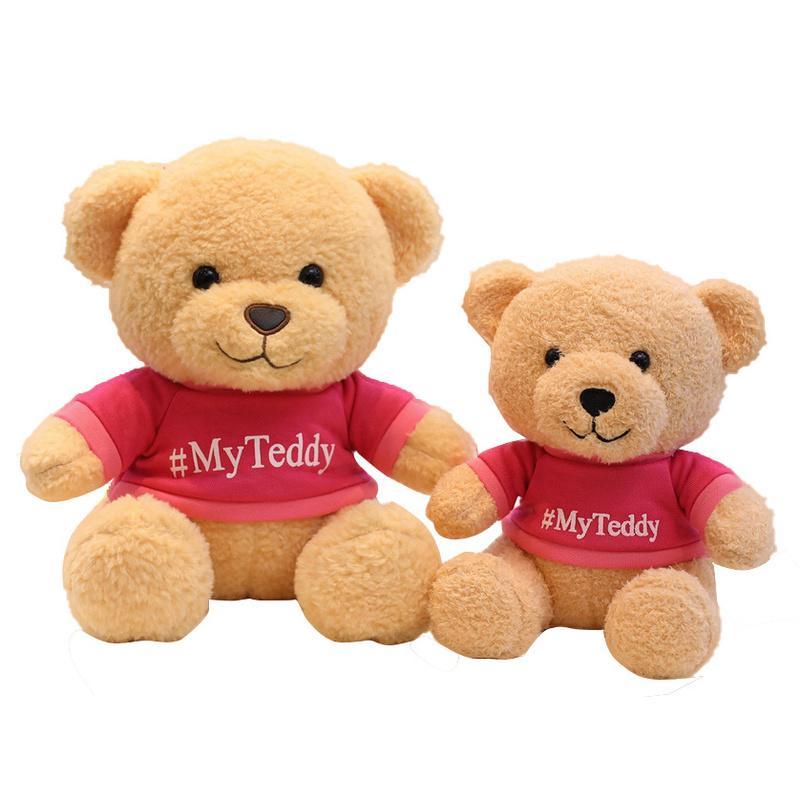 Presentes Plush Toy bebê calmante Brinquedo bonito Mascot boneca mascote do urso Plush Doll Stuffed Animal Plush Toy criativas para crianças