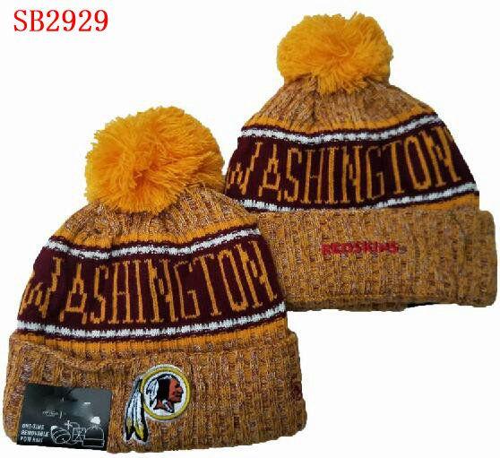 Vente en gros Vente Redskin Bonnet hiver a été prise tuque Crucial Hommes Femmes Calotte Pomp Skullies Script Sport Cuffed Bonnet avec PoM 02
