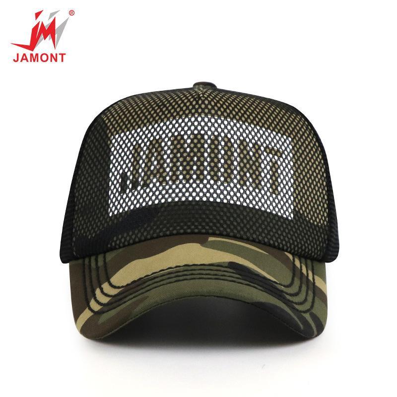 Gorras de béisbol de camuflaje de verano JAMONT Sombrero de sol de moda al aire libre gorra de béisbol para hombres y mujeres