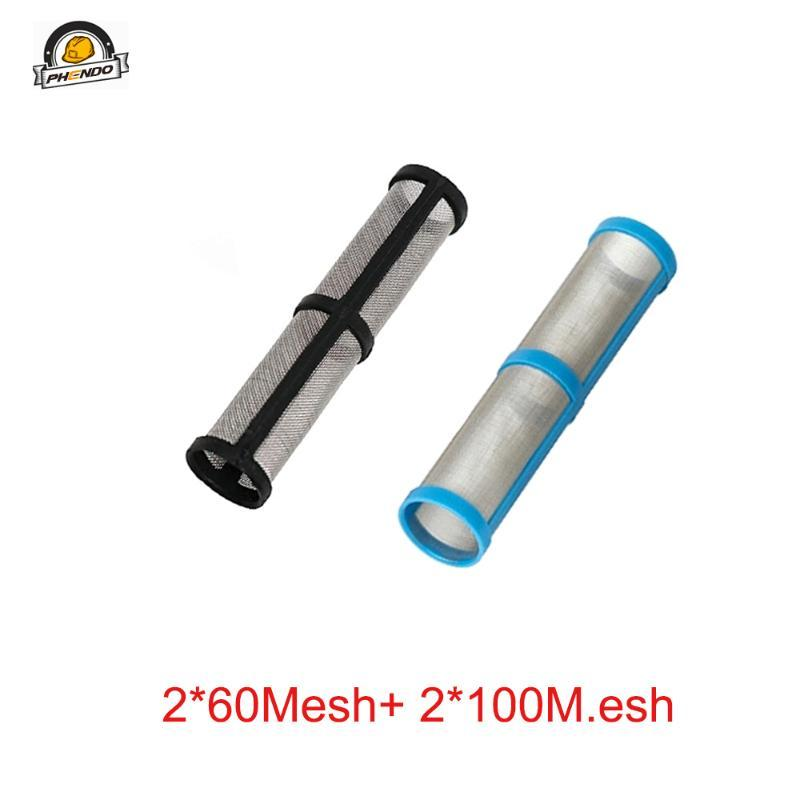 Bomba tubo do filtro 246384-60mesh / 246382-100mesh filtro funciona múltiplas com a ST, STX, Ultra pulverizador sem ar 395/495/595.