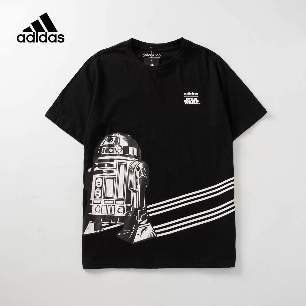 2019 AD stars wars t shirts short sleeve clothing skein logo clover print polo t-shirt turn-down collar cotton casual tshirt tee.