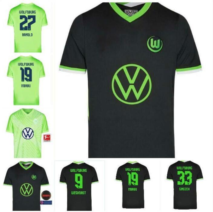 20 21 Jerseys de football Wehorst 2020 2021 Steffen Brekalo Football Shirt Arnold Xaver Hommes Jersey
