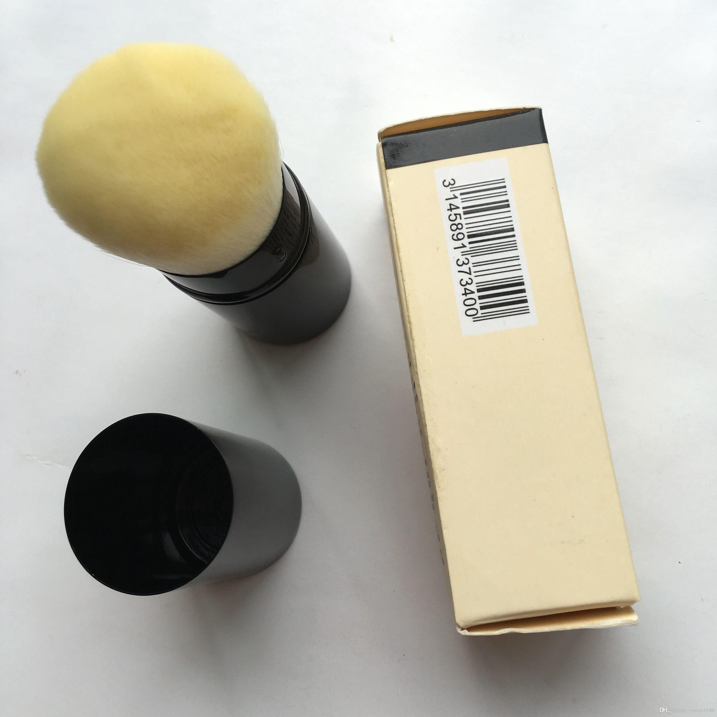 Pinceau de maquillage de marque pinceaux de maquillage portables de haute qualité en vrac très doux et rétractable
