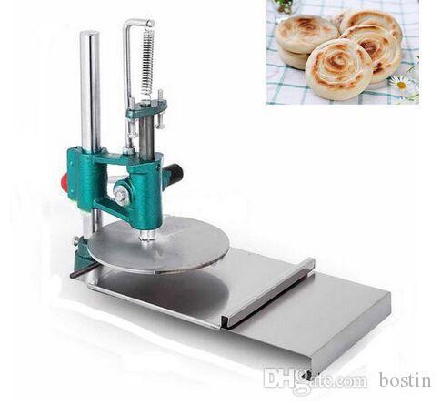 Manuelle Teig-Presse-Maschine Küchenmaschinen Teig-Presse-Roller Sheeter für die Herstellung der Pizza-Gebäck
