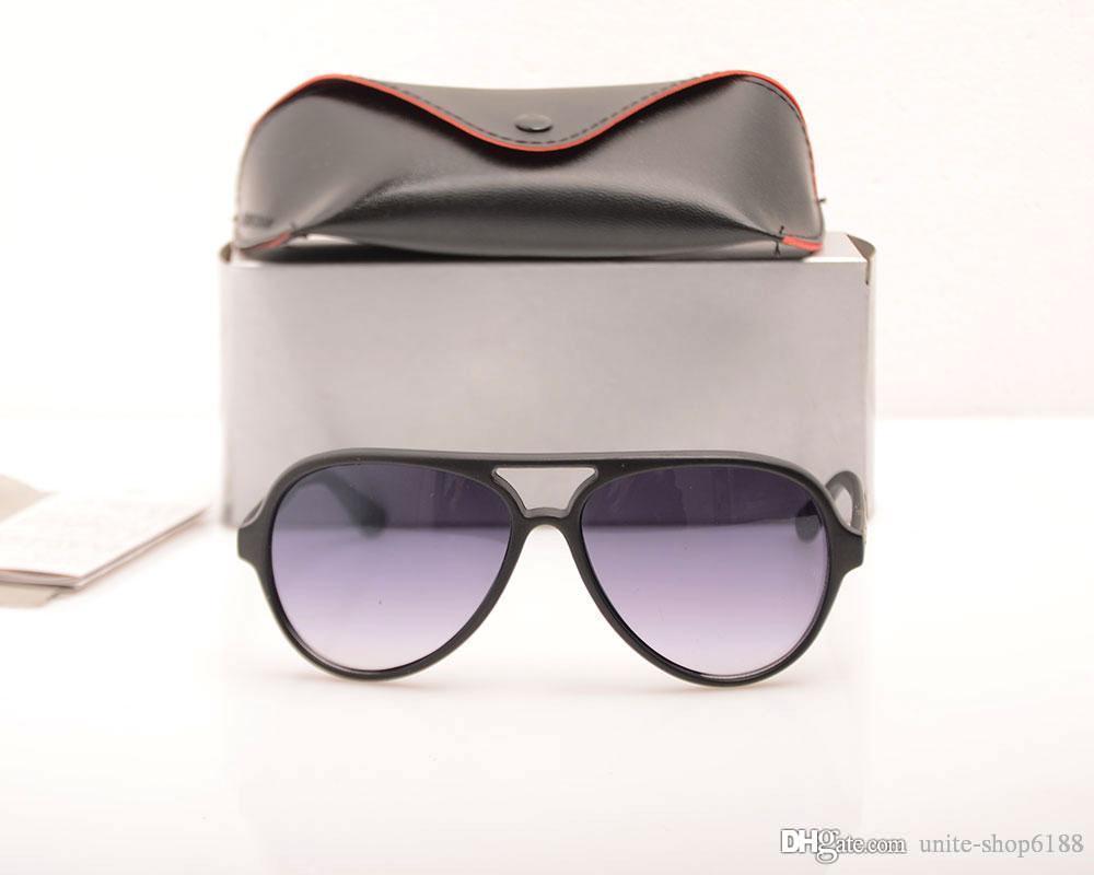 Fashion Classic Mens sunglasses 4125 Designer Womens sunglasses Brand Designer Sun glasses UV400 protection Sunglasses LOGO with cases boxs