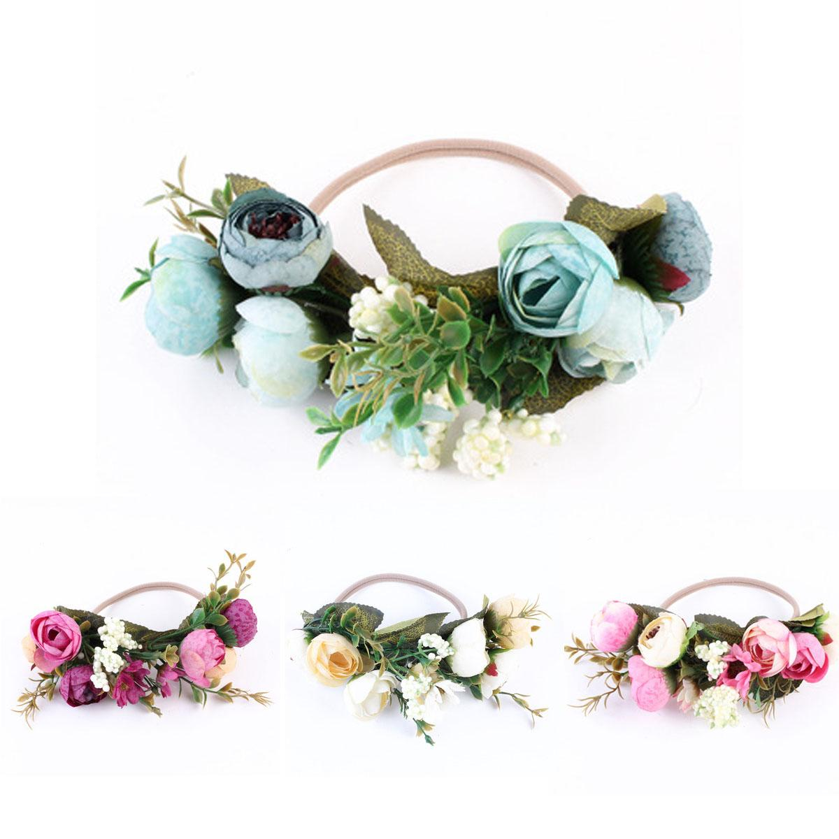 Kids Baby Infant Princess Flower Girl Hair Band Headband Headwear Accessories