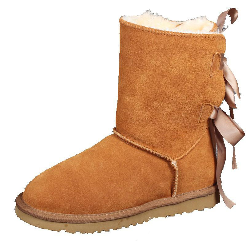 2019 Weihnachten Promotion Damen Stiefel BAILEY BOW Stiefel NEUE Schneeschuhe für Frauen