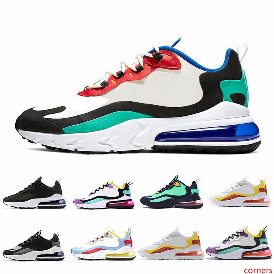 Free Shipping 2019 React tn Men Trainers chaussures BAUHAUS OPTICAL BLUE VOID white presto women Designer Outdoor Sports Zapatos shoes