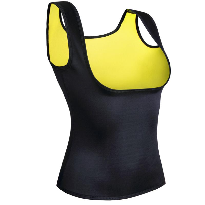 New Body Shaper Tank Top Shirt Women Neoprene Shapers Cami Vest Shirt Tops Chest Abdomen Waist Trainer Vest