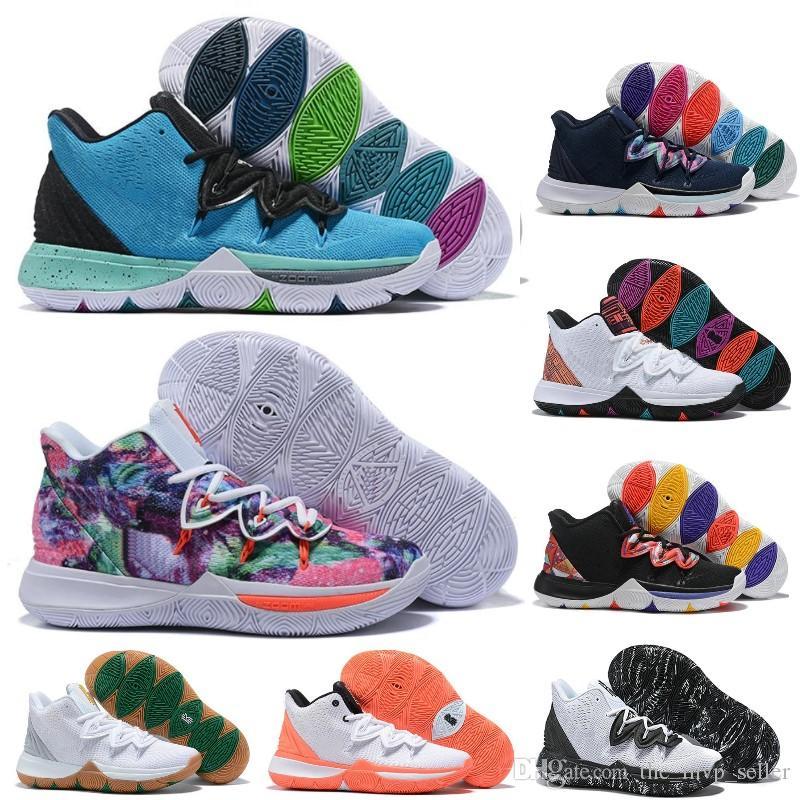 Новые Irving Limited 5 Обувь Баскетбол для мужчин Black Magic Кирие 5s Chaussures де корзинка B мяч Мужские Кроссовки Кроссовки конструктора 7.12