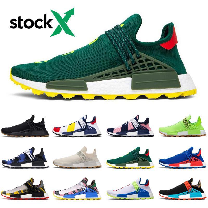 2020 Nmd Human Race Stock X Pharrell Williams Running Shoes Men