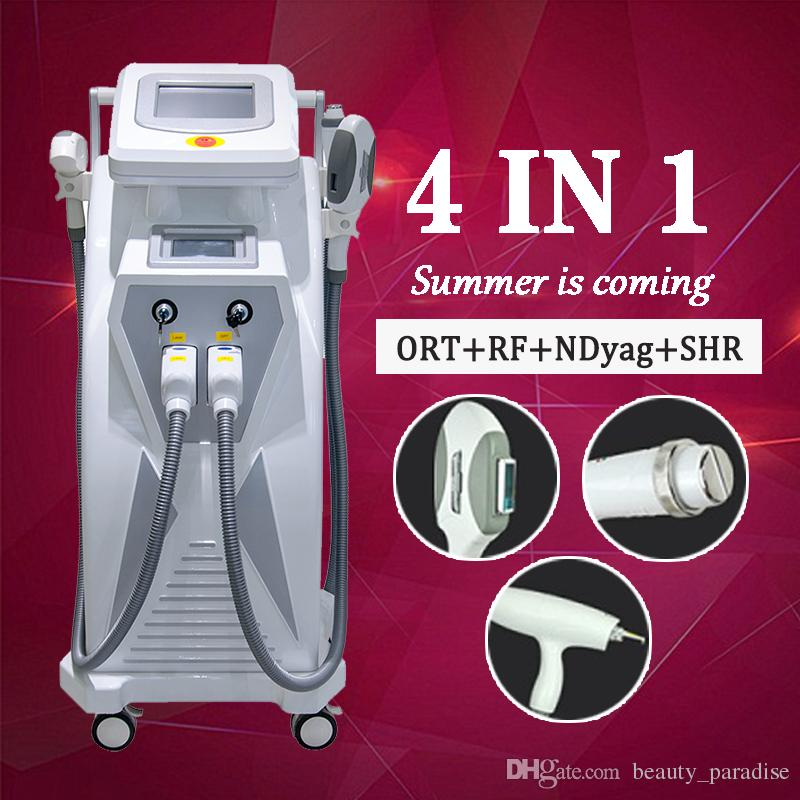 2019 Professional IPL laser Nd yag hair tattoo removal skin rejuvenation pigmentation removal spa salon clinic multifunction beauty machine