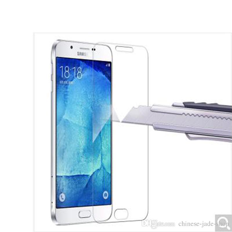 Pour Samsung Galaxy A10 A20 A20 CORE A30 A40 A60 A70 A80 A90 A9 2019 A9 PRO 9H Premium 2.5D Protection d'écran en verre trempé 2000PCS