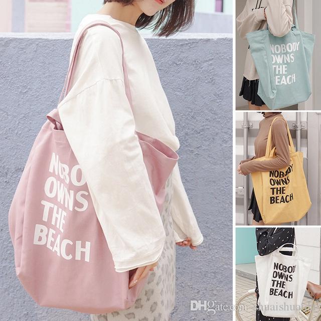 Çantalar. Tuval çantası. Alışveriş gündelik çantası. Büyük. Kadınların omuz çapraz vücudu. Omuz çantaları. El çantası. 2019. Moda Tek E132 NHGBQ