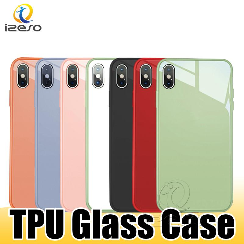 Glass Designer Phone Case for iPhone 11 Pro Max XR XS 7 Huawei P30 P20 Lite Explosion Proof Cover with Retail Packaging izeso