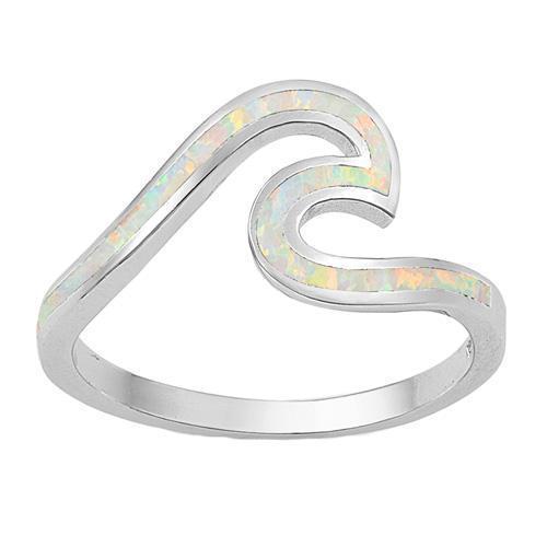 Hot einfache koreanische mode Welle ring neue frauen schmuck hochzeit ring großhandel fabrik sommer neuesten design für frauen muttertag geschenk