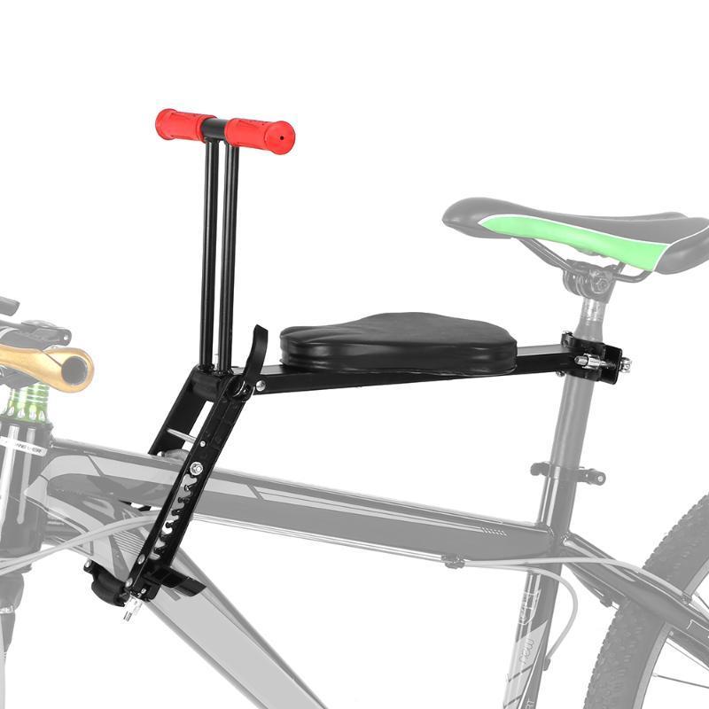 Lixada Pliable enfant vélo Siège Enfants Selle Vélo vélo Frontale avant la sécurité des enfants Siège de selle Porte-Accessoires
