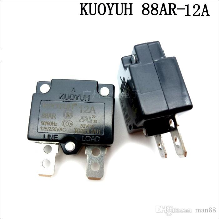 Taiwan KUOYUH Sovracorrente Protector Overload Switch Reset automatico serie 12A 88AR