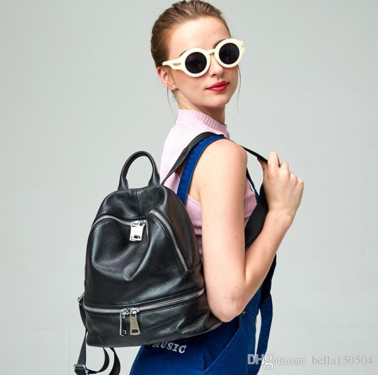 Novo estilo europeu marca mochila designer de moda pacote multi-bolso mulheres e homens mochilas de alta qualidade bolsas de viagem popular saco