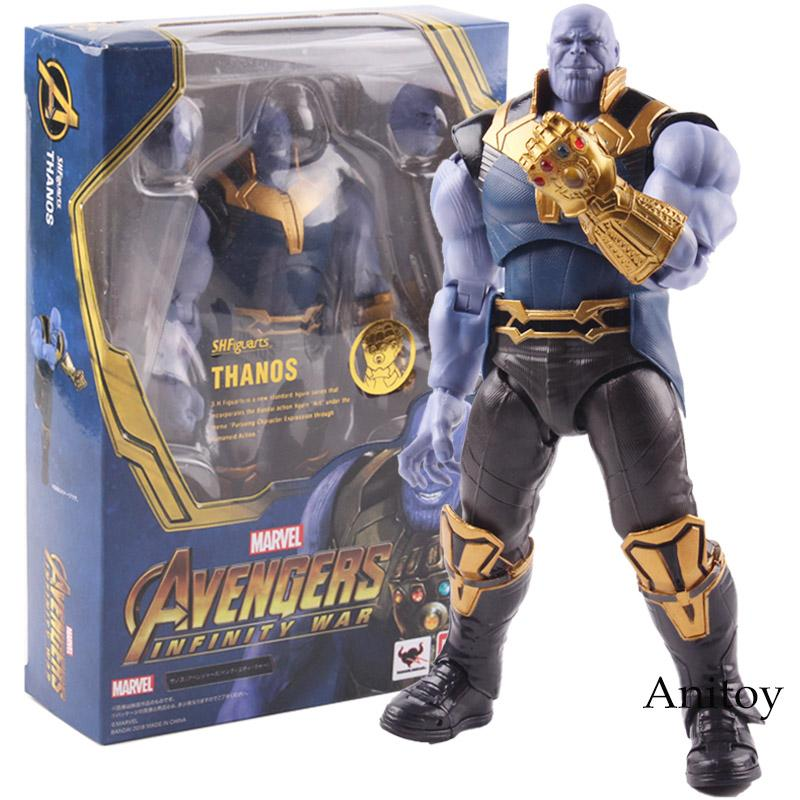 S.H.Figuarts SHF Movie Avengers Infinity War Thanos Action Figure Toys Gifts UK