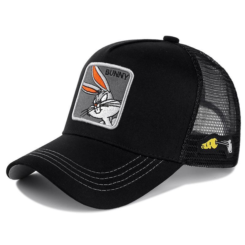 Looney Tunes Yeni Marka Anime Snapback Cap Pamuk Beyzbol Şapka Bay Bayan Hip Hop Baba Mesh Şapka Trucker Dropshipping
