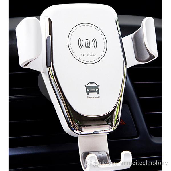 2020 vendita calda Q12 lusso caricabatterie wireless Quick Charger 5W 10W veloce Qi Charging Pad Compatibile per l'iPhone Samsung LG Tutti i dispositivi Qi