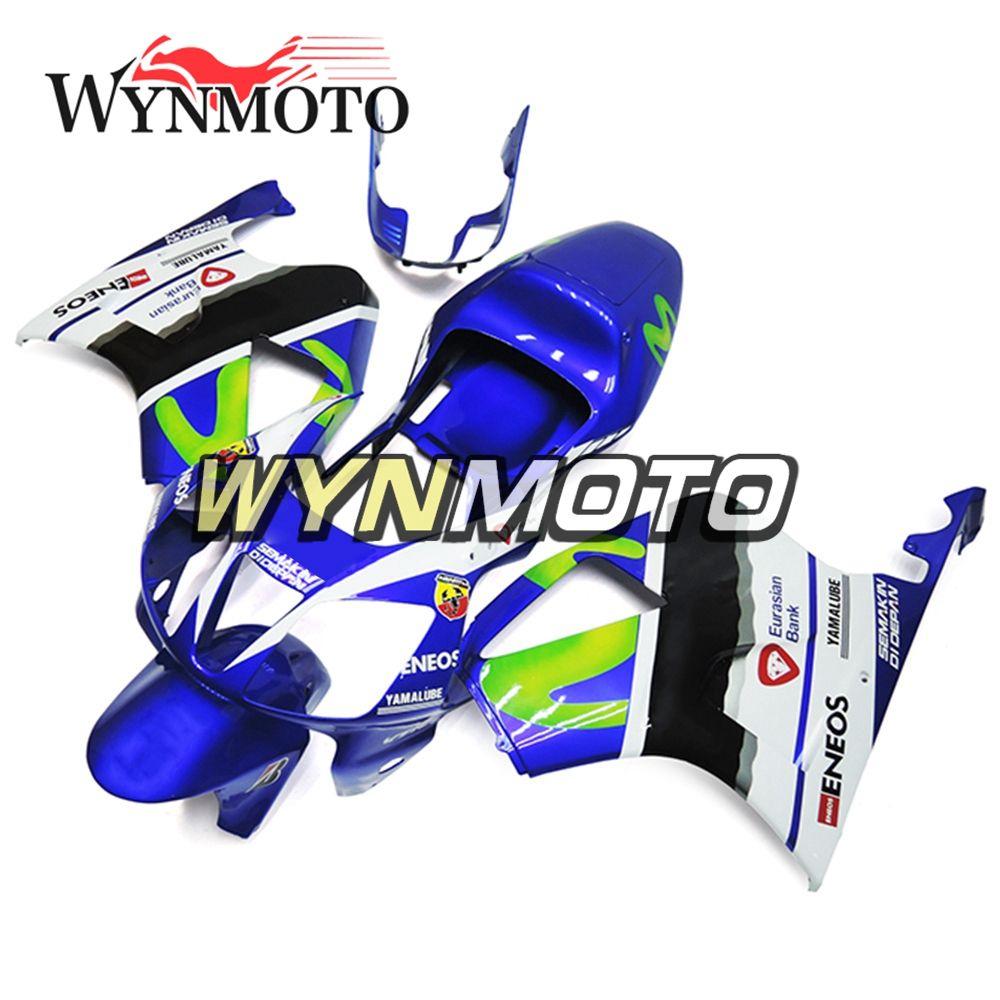 Honda VTR1000 Için Motosiklet Tam Kaporta RC51 SP1 SP2 2000 - 2006 01 02 03 04 05 06 ABS Plastik Kaputlar Movistar Mavi Yeşil Kaporta Yeni