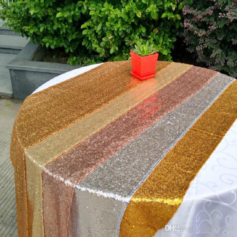 Nice Table cloth Square Table Cover long for Wedding Party Decoration Tables sequins Table Clothing Wedding Tablecloth Home Textile