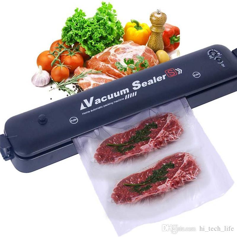 Vacuum Sealer машина безопасность Сертификация продуктов питания Sealer машин с 15 Уплотнительными мешками Starter Kit, сухие и режимы Moist для Keep пищи свежей