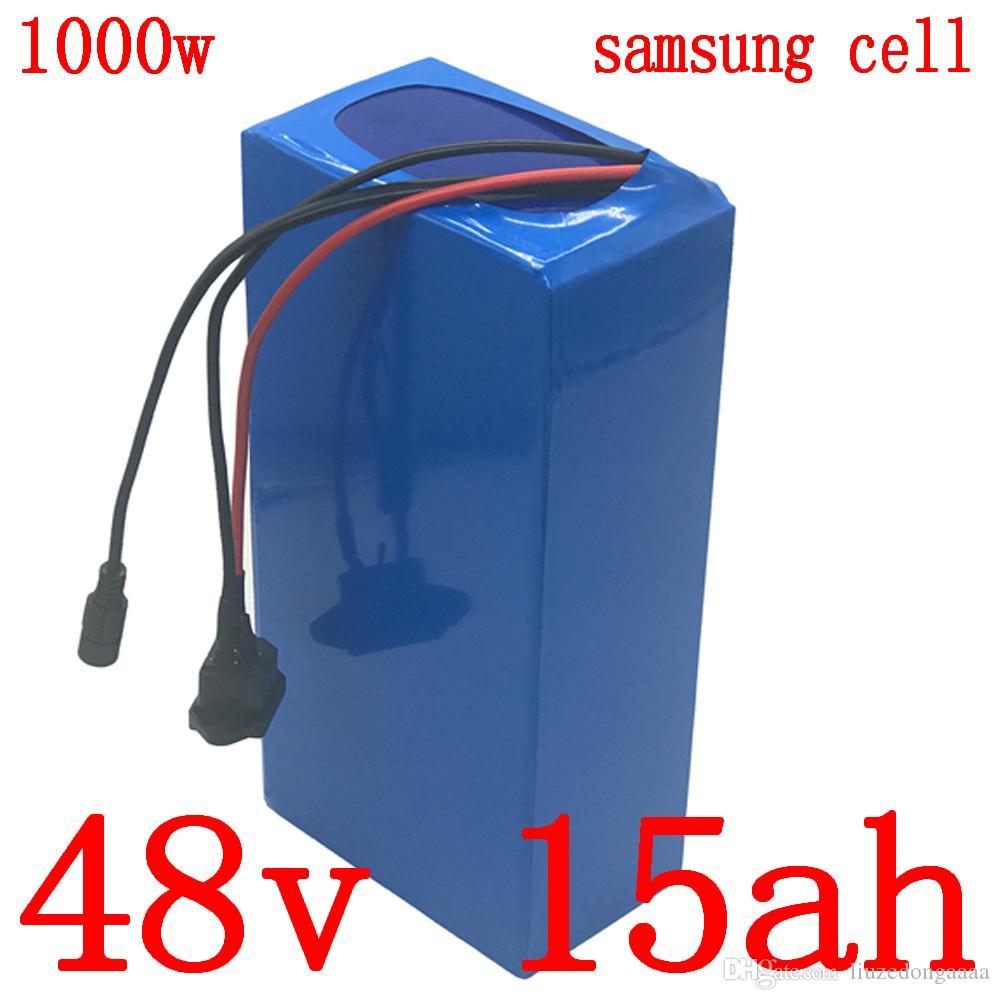 48W 100 21ah использование батареи лития Samsung 48v12ah клетка 15AH 18AH батареи 48v 15AH Ebike электрического велосипед аккумулятор с зарядным устройством