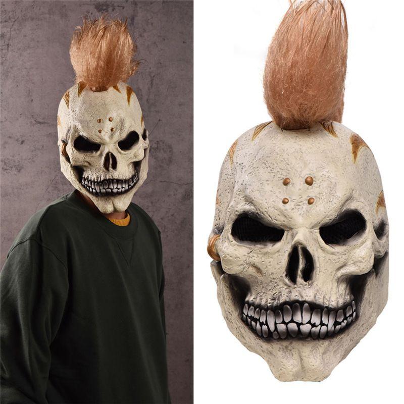 Anime Festival cráneo máscaras esqueleto magia cráneo cara máscara fantasma bufanda Multi uso cuello fantasma media cara máscara