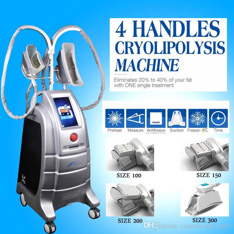 Salon Kliniği Evde Kullanım için Serin Serin Şekillendirici Cryolipolysis Makinesi Dondurucu Makinesi Cryotherapy Kilo Kaybı Zayıflama