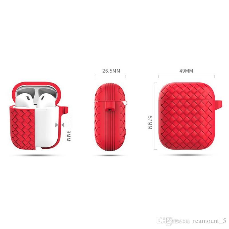 Mode Heißer verkauf Bunte staubdicht Silikon Fall Für Kopfhörer Kompatibel Abdeckung Für Airpod Stoßfest Schutzhülle Mit Kleinkasten