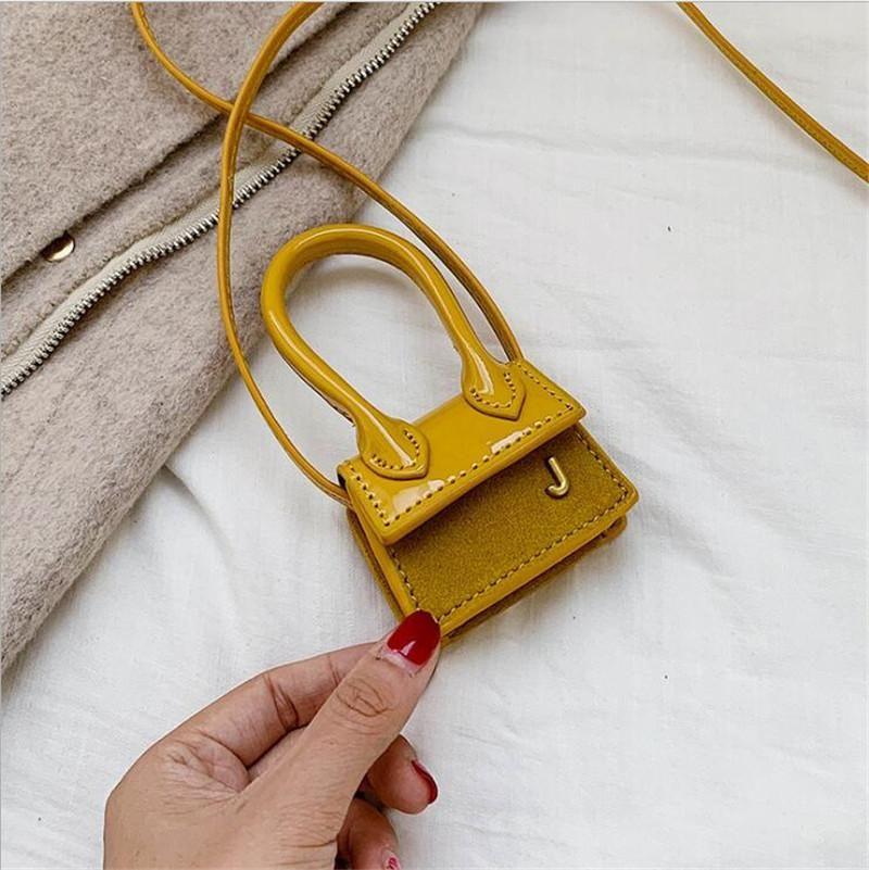 Damen Ins Hot Mini J Tasche Micro Messenger Bags Frauen Nette kleine Handtaschen Luxus Female Minimalist Chiquito Thumb Schultertasche