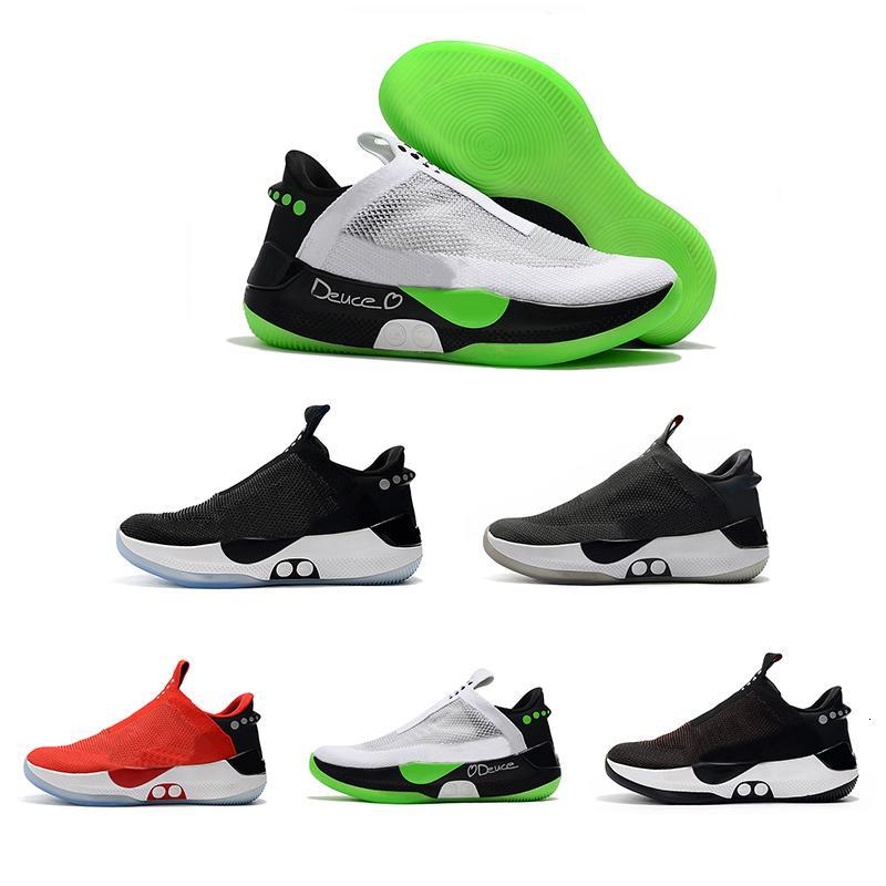 Top qualité BB Adapt Haute Noir Rouge Sport Hommes Chaussures de basket-ball pour hommes de haute qualité des hommes de mode confortable Taille 40-45