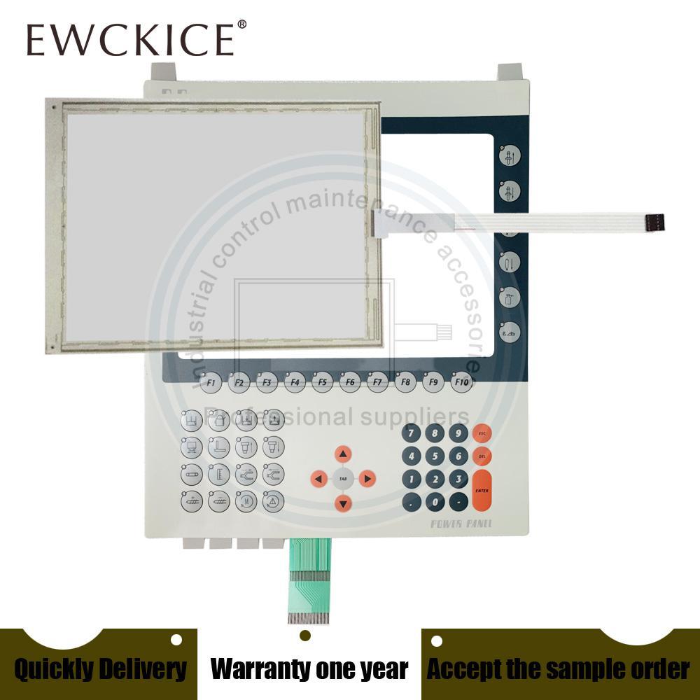 Orijinal YENİ GÜÇ PANELİ 4PP481.1043-B5 4PP481.1043 B5 PLC HMI Endüstriyel Dokunmatik ekran VE Membran tuş takımı